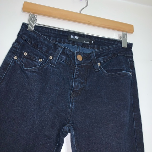 BDG Denim - BDG dark denim long skinny jeans 26